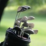 Photo of a golf bag.