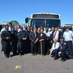 The MBTA has more than 1,400 bus operators and held their annual bus roadeo this weekend. Courtesy Photo / MBTA