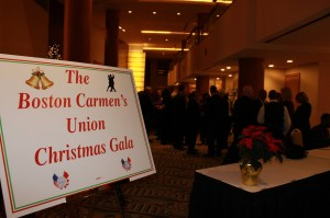 oston Carmen's Union's First Annual Christmas Gala