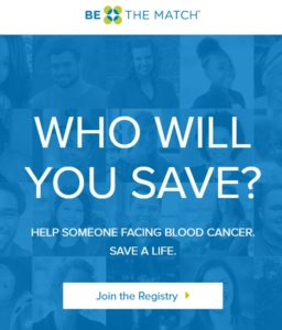 Help Someone Facing Blood Cancer. Save A Life.