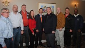 Executive Board of the Boston Carmen's Union, Local 589 seen here with Treasurer Steve Grossman.