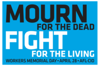 Poster for Workers Memorial Day