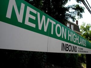 Newton Highlands T Station