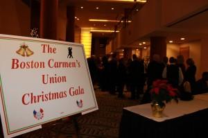 oston Carmen's Union's First Annual Christmas Gala