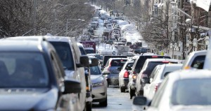 AP/FILE. The T is not the only part of the transportation network that needs to be updated. Earlier this month, cars were gridlocked on Beacon Street.