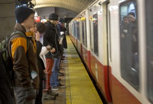 Red Line trains once had two workers aboard - Boston